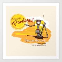 Visit Pandora! Art Print
