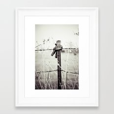 Farm Hands Framed Art Print