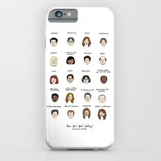 The Office Mood Chart Slim Case iPhone 6s