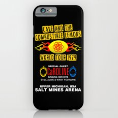 Cave & The Combustible Lemons Slim Case iPhone 6s