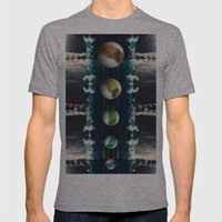 Rockets and Space and Stuff Mens Fitted Tee Athletic Grey SMALL