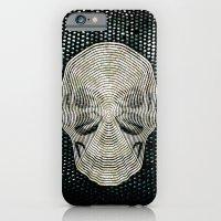 Twilight 4 Eyes Skull iPhone 6 Slim Case