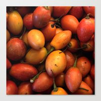 Tomate de arbol Colombia Canvas Print