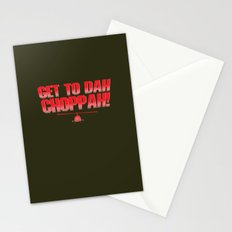 Get To Dah Choppah! Stationery Cards