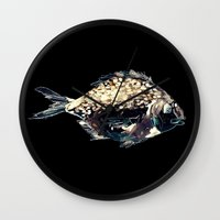 Fairytale Fish Glowing Version Wall Clock