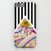 iPhone Cases featuring T.A.S.E.G. ii by Nikola Nupra
