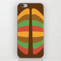 Halves iPhone & iPod Skin