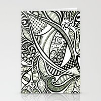 Zentangle Flowering Stationery Cards