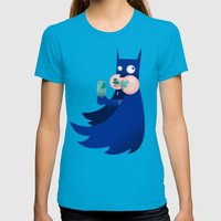 Buttman Womens Fitted Tee Teal SMALL