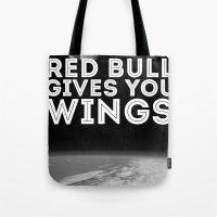 Felix Baumgartner Wings Tote Bag