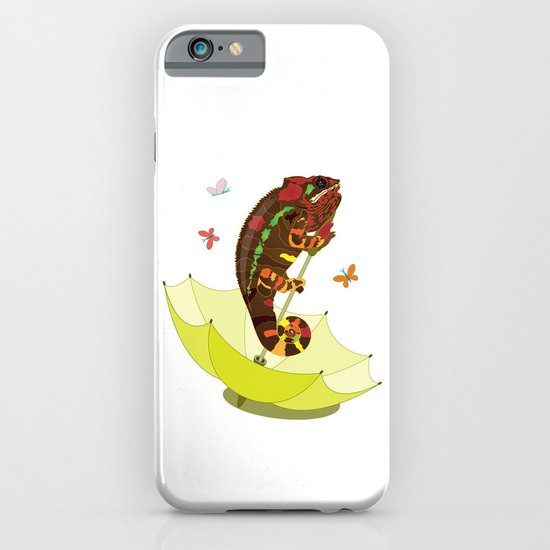 A Big Chameleon  iPhone & iPod Case