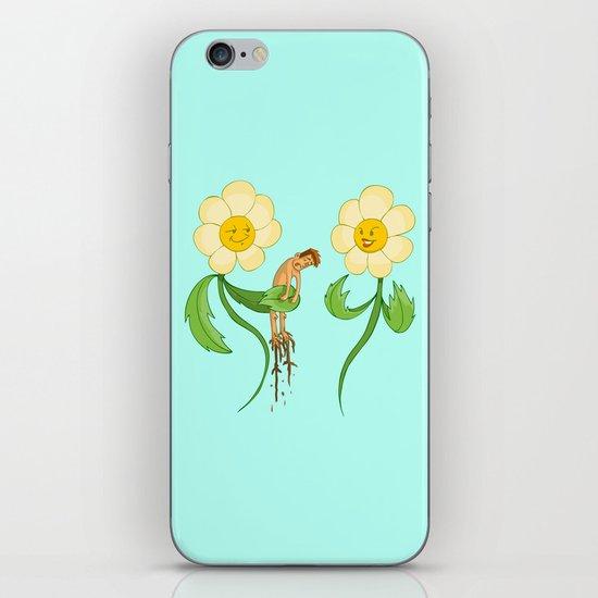 Planting Revenge iPhone & iPod Skin