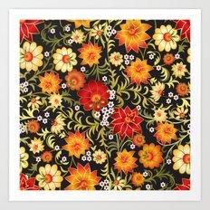 Shabby flowers #21 Art Print