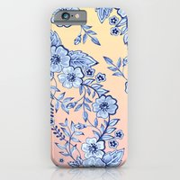 iPhone & iPod Case featuring Blue Rhapsody by Patricia Shea Designs