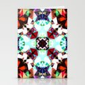 Colorful Kaleidoscope Creation Stationery Cards