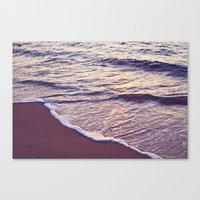 Morning Waves Canvas Print