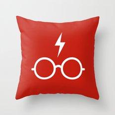 Harry Potter Minimal Throw Pillow