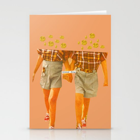 Unusual Thing Stationery Card
