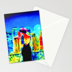 Let's Set the World on Fire Stationery Cards