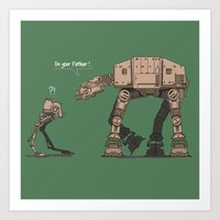 I'm Your Father Art Print