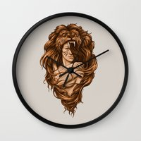Lion Queen Wall Clock