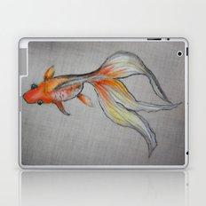 Goldfish Pond (close up #6) Laptop & iPad Skin
