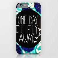 One Day I'll Fly Away iPhone 6 Slim Case