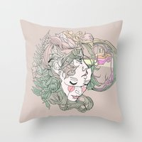 H I N D S I G H T Throw Pillow