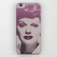 Lucille Ball iPhone & iPod Skin