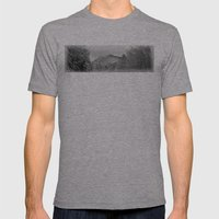 Winter's View Of Roundto… Mens Fitted Tee Athletic Grey SMALL