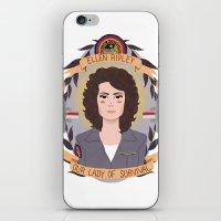Ellen Ripley iPhone & iPod Skin