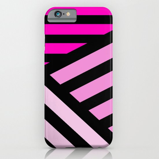 STRIPED {PINK} iPhone & iPod Case