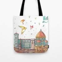 Colors of Florence Tote Bag