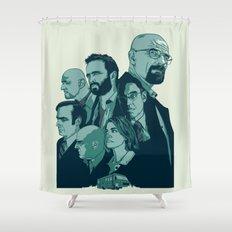 Br Ba Shower Curtain