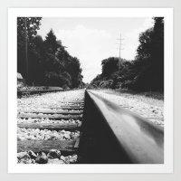 Railroad II Art Print
