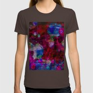 T-shirt featuring Blue/Red Marble Waterpai… by SwanniePhotoArt