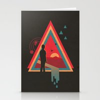 Stare into the Sun Stationery Cards