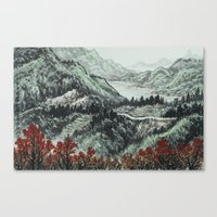 Spring of WuShe Canvas Print