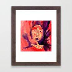 Chronic. Framed Art Print