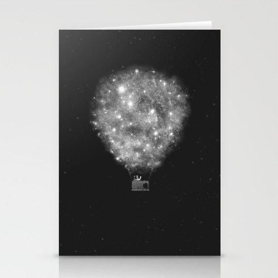 Supernova Sky Ride Stationery Card