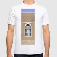 Rancho De Taos Mens Fitted Tee Ash Grey SMALL