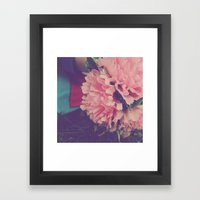 Fresh Pink Framed Art Print