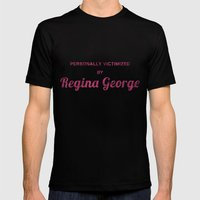 Personally Victimized By… Mens Fitted Tee Black SMALL