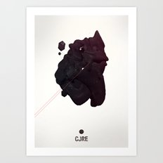CORE Black 4 Art Print