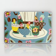 The Coffee Carousel Laptop & iPad Skin