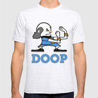 Doop Mens Fitted Tee Ash Grey SMALL