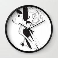 Maen ar sklerijenn - Emilie Record Wall Clock