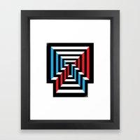 [T] Framed Art Print