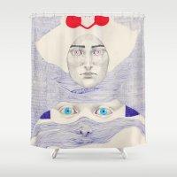 Deception  Shower Curtain