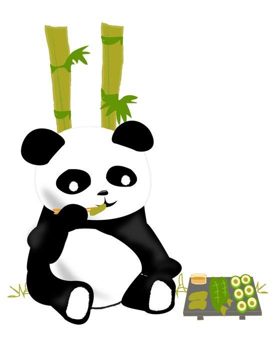 SOLD! Kung Food Panda Art Print